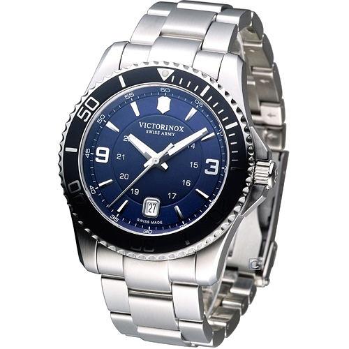 維氏錶 Victorinox Maverick GS 大三針時尚錶 VISA-241602