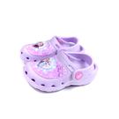 冰雪奇緣 花園鞋 涼鞋 電燈鞋 童鞋 粉紫色 中童 FNKG04647 no722