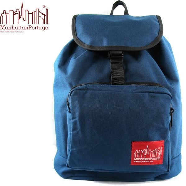 〔↘下殺5折↘〕Manhattan Portage 曼哈頓包 後背包 大容量 潮流經典款 1219-NVY 藍色 得意時袋