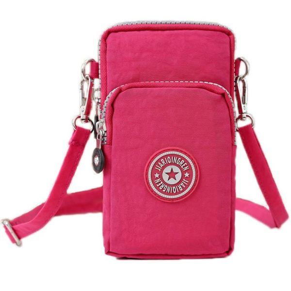 手機包女側背包掛脖手機袋手腕包零錢包裝迷你小包包