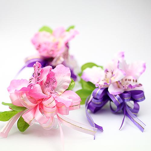 幸福婚禮小物❤典雅東亞蘭胸花❤伴郎伴娘胸花/婚禮用品