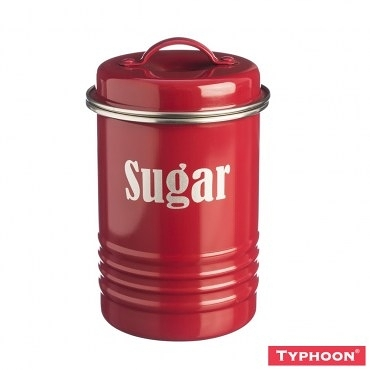 【TYPHOON】復古儲存糖罐1-25L(紅)