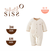 【SISSO有機棉】棉絨吸濕好保暖雙層兔裝 3M 6M
