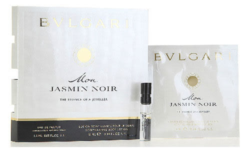 Bvlgari Mon Jasmin Noir 寶格麗 我的夜茉莉 女性淡香精 1.5ML+身体乳10ML【七三七香水精品坊】