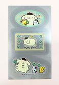 【震撼精品百貨】Pom Pom Purin 布丁狗~反光貼紙-銀#36505