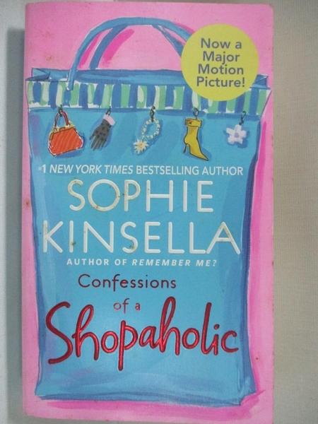 【書寶二手書T3/原文小說_AVH】Confessions of a Shopaholic_Kinsella