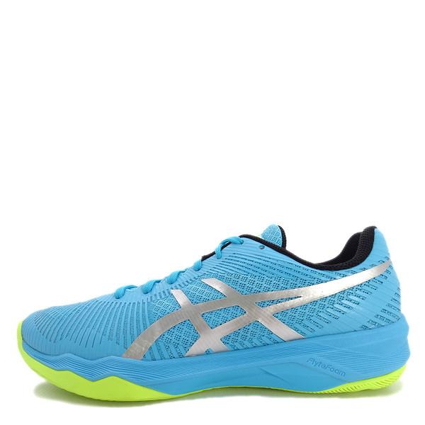 Asics Volley Elite FF [B751N-400] 女鞋 羽排鞋 透氣 輕量 彈性 緩衝 亞瑟士 藍