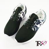 【TRS】韓國TRS空氣增高鞋內增高7公分休閒女鞋-迷彩綠(7100-0047)