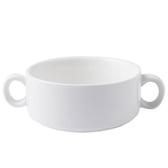 創意甜品杯沙拉碗燉湯盅烘焙模具蒸蛋碗雙耳陶瓷烤碗中式早餐粥碗