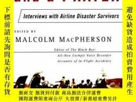 二手書博民逛書店On罕見a Wing and a Prayer: Interviews with Airline Disaster