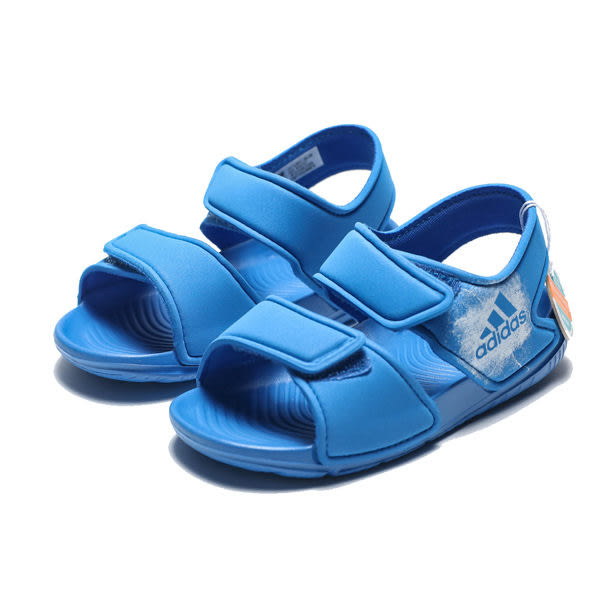 ADIDAS ALTASWIM 寶藍 黏帶 涼鞋 小童 (布魯克林) BA9281