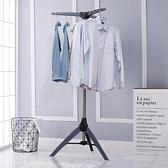 陽台晾衣架子室內曬衣架落地摺疊式簡易移動掛衣架小型涼衣架家用 夏日新品85折