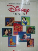 【書寶二手書T1/音樂_DJF】The Illustrated Treasury of Disney s Songs