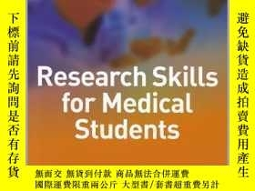 二手書博民逛書店Critical罕見Thinking and Research for Medical Students-醫學生的