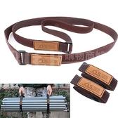 【韓國CLS】野營旅行戶外裝備捆綁帶 行李捆紮帶 背包捆綁繩 綁緊固定粘扣2個裝