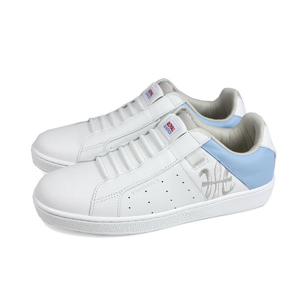 ROYAL ELASTICS 休閒運動鞋 懶人鞋 白/水藍 女鞋 91902-658 no592