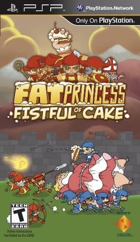 PSP Fat Princess: Fistful of Cake 胖公主:蛋糕一把抓(美版代購)