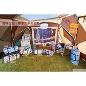 【南紡購物中心】【野峰地墊】露營美學 防水可機洗地墊 300x300-早點名露營生活館