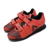 Reebok 訓練鞋 Legacylifter FW 紅 黑 男鞋 舉重鞋 膠底 運動鞋 CrossFIT 健身專用 【PUMP306】 FU7873