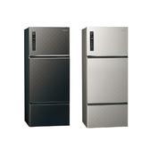 (節能補助)Panasonic 國際牌 481公升 三門 變頻電冰箱   NR-C489TV -K / S   (  星空黑  /  銀河灰  )
