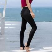 瑜伽服 瑜伽健身服女運動長褲健身網紗踩腳裸感瑜珈健美提臀高彈褲子 星隕閣