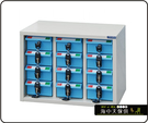 {{ 海中天休閒傢俱廣場 }} F-99 摩登時尚 DF 多功能置物櫃系列DF-MP-12C 十二屜 / 藍色抽