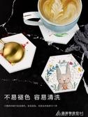 天然矽藻泥杯墊吸水隔熱茶杯墊創意可愛咖啡墊防滑速乾杯墊矽藻墊 交換禮物