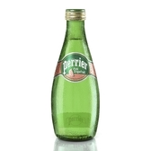 法國Perrier 氣泡天然礦泉水 葡萄柚玻璃瓶(330mlx24)