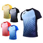 ASICS 男排球短袖T恤  (免運 短T T恤 慢跑 路跑 亞瑟士≡排汗專家≡