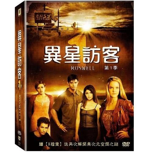 異星訪客第一季DVD Roswell Season 1 美國羅斯威爾飛碟事件 幽浮UFO外星人  (購潮8)