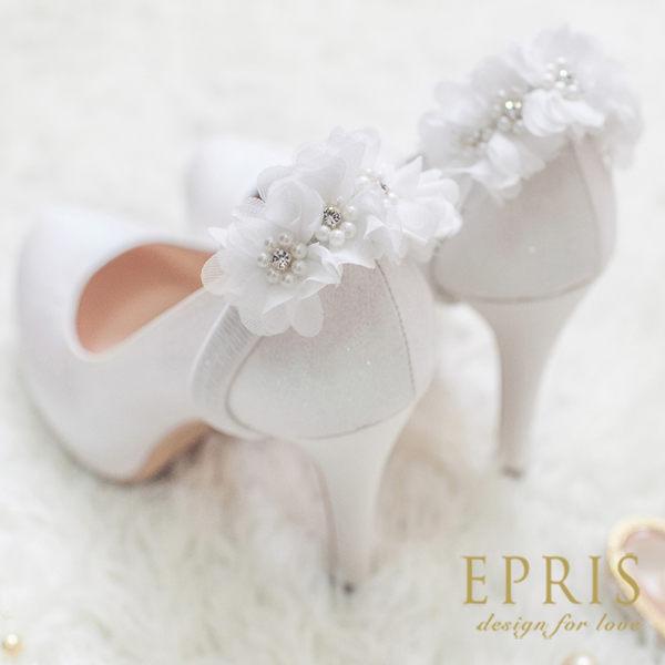 預購 MIT小中大尺碼婚鞋推薦 花漾女神 經典內增高跟鞋 19-26 EPRIS艾佩絲