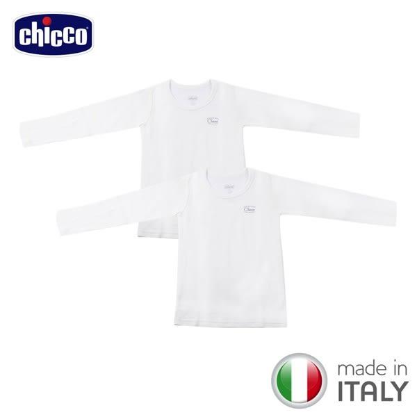 chicco-長袖羊毛內衣二入(義大利製)