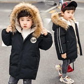 兒童棉服男 棉衣2021新款兒童冬裝羽絨棉服外套中大童冬季加厚中長款棉襖【快速出貨八折搶購】