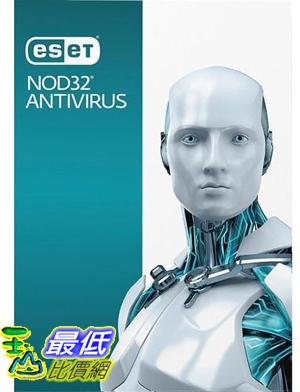 [7美國直購] 2018 amazon 亞馬遜暢銷軟體 ESET NOD32 Antivirus 2017 3 users 1 Year Windows PC s