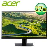 【Acer 宏碁】27型 VA 薄邊框護眼電腦螢幕(KA270H A) 【加碼贈攜帶型肥皂紙】