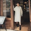 Queen Shop【01085076】基本素面前短後長襯衫洋裝 三色售*現+預*