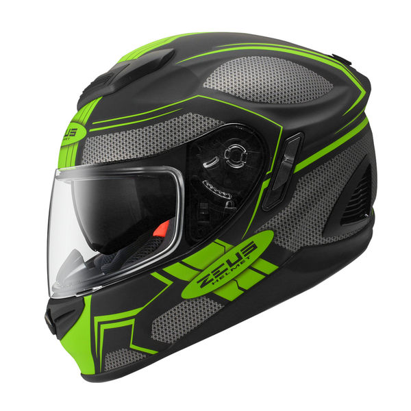 ZEUS 瑞獅安全帽,ZS-1600,AK3/消光黑綠