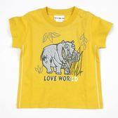 【愛的世界】純棉圓領河馬短袖T恤/3歲-台灣製- ★春夏上著 換季推薦