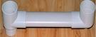 【麗室衛浴】改修利器G-009-2 地板2英吋排水管專用扁管.降低地板高度標準長度100公分