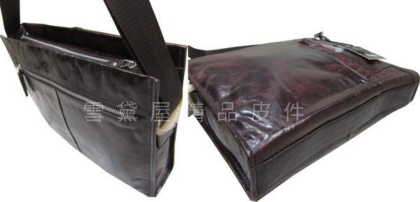 ~雪黛屋~MoDo 書包大容量可放A4紙進口油皮革材質耐磨損耐承重隨身外出休閒隨身包QH6806