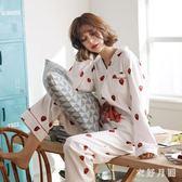 寬鬆絲綢冰絲睡衣女 睡衣女春秋純棉長袖薄款夏季韓版寬鬆可愛 WD1163『衣好月圓』
