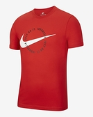 NIKE服飾系列-Sportswear 男款紅色運動短袖上衣-NO.DB9412600