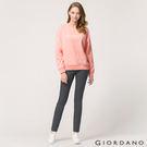 【GIORDANO】女裝中腰標準窄管休閒褲(08 冷灰)