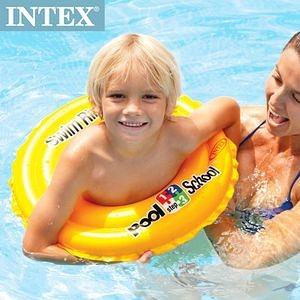 【INTEX】游泳學校POOL SCHOOL-STEP 2游泳圈(58231)