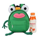 兒童帶牽引繩青蛙造型小雙肩防走失背包 YY2005『東京衣社』