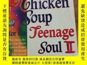 二手書博民逛書店Chicken罕見Soup For The Teenage So