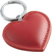 《PHILIPPI》Cora牛皮愛心鑰匙圈(紅)