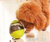 狗狗漏食球泰迪幼犬法斗耐咬寵物零食球益智玩具漏食器不倒翁用品 一米陽光