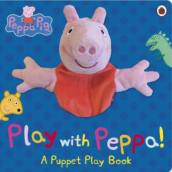 Peppa Pig: Play With Peppa Hand Puppet Book 佩佩豬手偶互動書