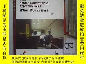 二手書博民逛書店4th罕見Edition Audit Gommittee Eff